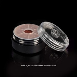 Cosmetic Glimmer Effects 3g, Red Copper