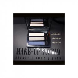 Paletka očních stínů - 3x stíny v boxu s aplikátorem