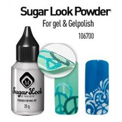 Krystalický prášek - Sugar look - jemný - na gel & gelpolish
