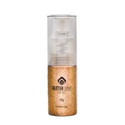 Glitter Spray for Gel 17g -  Ochre Gold
