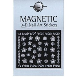 3D Rubber Nail Art Sticker 40