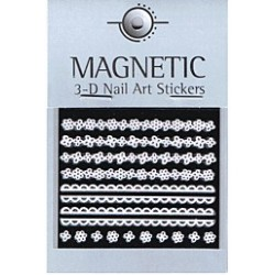 3D Rubber Nail Art Sticker 41