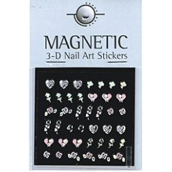 Holographic 3D Nail Art Sticker 49