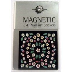 3D Nailart Sticker new č.489