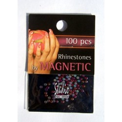Rhinestones Red Ice Medium 100 st