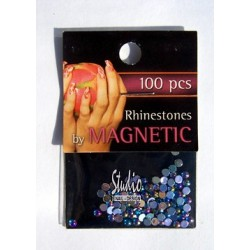 Rhinestones Dark Blue Ice Large 100 st