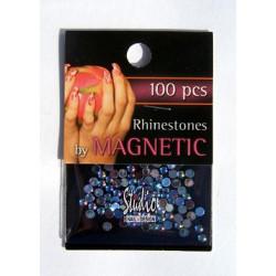 Rhinestones Aqua Ice Large 100 st