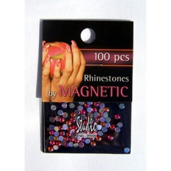 Rhinestones Orange Ice Large 100 st