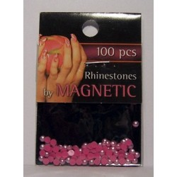 Pearl Round Pink Large 100 st