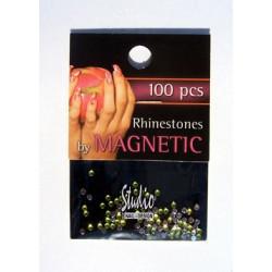 Rhinestones Yellow M 100 pcs
