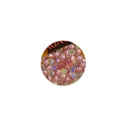 Hologram Rhinestones Lrg Pink