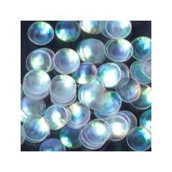 Dots White Iris
