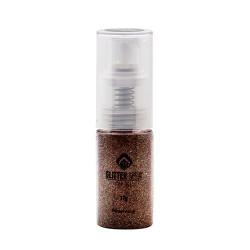 Glitter Spray For Gel 17g- Bronze