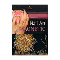 Nailart Yarn Light Gold