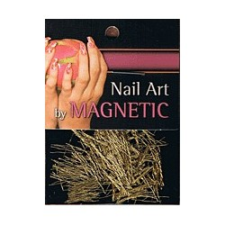 Nailart Yarn Dark Gold