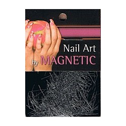 Nailart Yarn Silver/Black