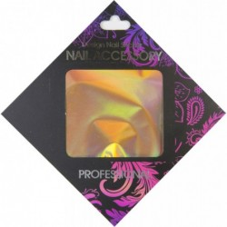 Gel Transfer Foil Holografic Gold