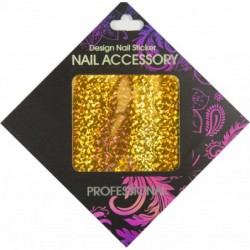 Gel Transfer Foil Gold Flakes