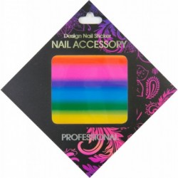 Gel Transfer Foil Foil Rainbow