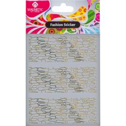 Samolepka Fashion Sticker Gold