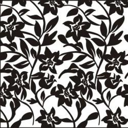 Samolepka Fashion Sticker Black