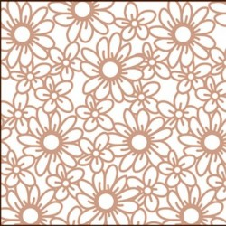 Samolepka Fashion Sticker Rose Gold