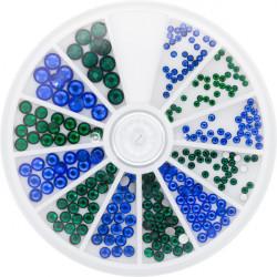 Strass Sapphire&Emerald