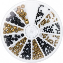 Strass Black & Gold