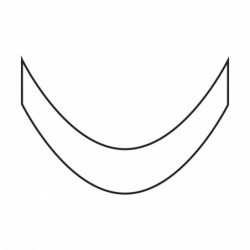 Smile lines - French Silver