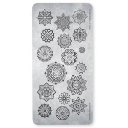 Razítko - Stamping Plate Free Mandala