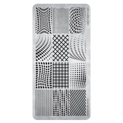 Razítko - Stamping Plate 17 Dot´s ń Lines