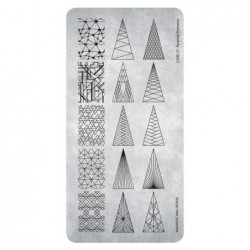 Razítko - Stamping Plate Pyramid Elements
