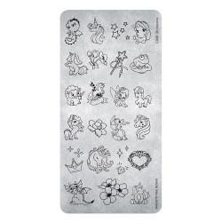 Razítko - Stamping Plate 25 Unicorn