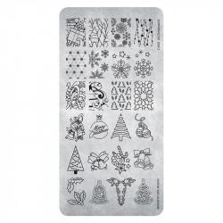 Razítko vánoční - Stamping Plate Christmas 02