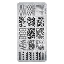 Razítko - Stamping Plate  Vintage Lace