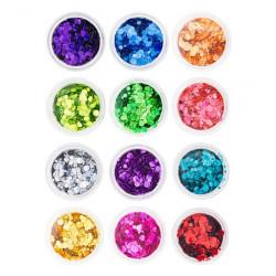 Mirror Confetti - pihy 12 barev