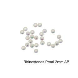 Rhinestones Pearl 2mm AB