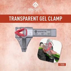 Transparent gel clamp - průhledná svorka na pinčování gel. nehtů