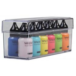 Akrylátový box pro 12 akrylových barev