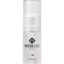 Glitter Spray - White  24g