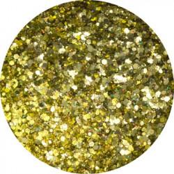 Třpytný prach Glitter Disco Gold 14 g