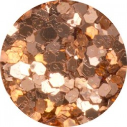 Třpytný prach Glitter Copper 14 g