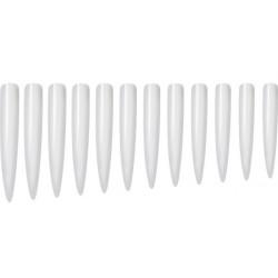 Stiletto tipy XL clear 12 ks