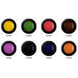Coloured Acrylic Powders Kit 8 pcs