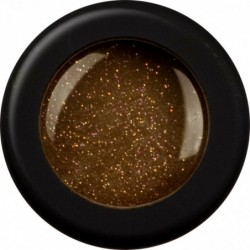 Dark Brown Glitter 15gr