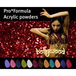 Akrylové pudry Pro Formula Bollywood set 12ks á 3g