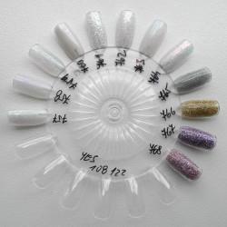 Akrylové pudry Pro Formula YES - set 12 ks á 3 g