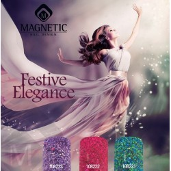 Festive Elegance - akrylové třpytné pudry 3 ks á 152g