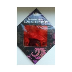 Gel Transfer Foil  Metallic red