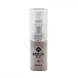 Glitter Spray - Steel Silver, 24g